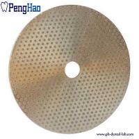 China Abrasive Material Diamond Disc Dental , Diamond Polishing Disc Trimmer Consumables on sale