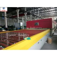 China LV-DTF Series Double Heating Chamber Glass Tempering furnace / Glass Toughening Machine on sale