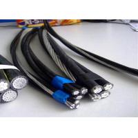 Buy cheap Duplex Aac Phase Acsr Neutral Conductor Service Drop Cable With PVC Jacket product