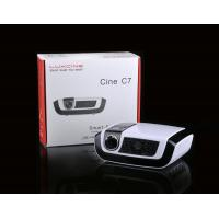 Buy cheap Multimedia HD Home Cinema Projectors , TF Card Slot and DLP 3D-Link product