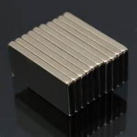 Buy cheap Sintered ndfeb magnets Block ndfeb magnet 25x10x2mm thin magnet product