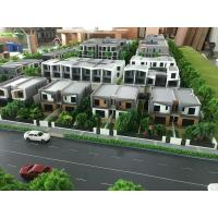 China Acrylic Plastic Architecture House Model For Townhouse Displaying 1 / 100 Scale on sale
