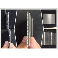 Buy cheap 0.1MM Slot Wire Mesh Screen For Suger Cane Making / Wedge Wire Filter Easy Clean product