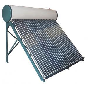 Vacuum tube non pressure compact solar water heater