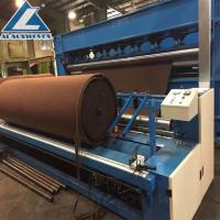 China PET needle punched nonwoven geotextile making machine low price on sale