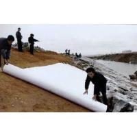 China PET Staple Fiber Geotextile Road Fabric on sale