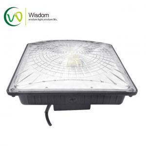 Buy cheap AC100-277V LED Parking Garage Lights 5000K UL DLC 65W Aluminum Material PC Lens product