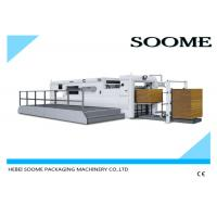 Buy cheap Corrugated Paper Flat Bed Press Die Cutting And Creasing Machine Semi Automatically product