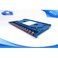 Buy cheap 300 * 180 * 25mm Optical Fiber Patch Panel Rack Mount ODF For Indoor / Outdoor product