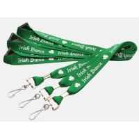 Buy cheap Custom Promotion Gift Polyester Neck Lanyard with Silk Screen Logo product
