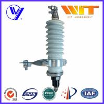 Buy cheap 60KV High Voltage Porcelain Surge Arrester for Electrical Transformer product