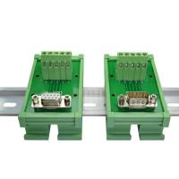 Buy cheap DB9 D Sub 9 Pin Single End Male Female Connectors Terminal Block  Breakout Board product