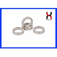 Quality Strong Powerful Rare Earth Ring Magnets / Neodymium Ring Magnet N35-N52 Grade for sale
