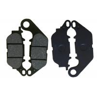 China JUPITER MX Motorcycle Brake Pads , Parking Brake Shoes Steel Material Black Color on sale