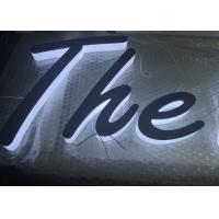 Buy cheap Sidelit Natural White 3D Logo Letter Sign Acrylic LED Chanel Letters for Shop Sign from Wholesalers