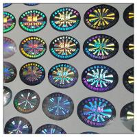 Buy cheap Custom high quality hologram label in guangzhou ,hologram sticker label printing product