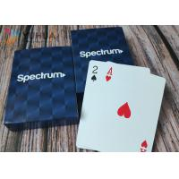 Buy cheap Embossing Custom Printed Playing Cards With 4C Printing In Customized Box from wholesalers