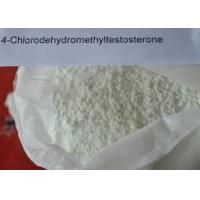 Buy cheap Bulking Cycle Oral Anabolic Steroids Turinabol Powder 4 - Chlorodehydromethyltestosterone For Bodybuilding product