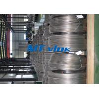 Buy cheap 9.53mm TP304L / 316L Welded Super Long Coiled Stainless Steel Tubing For Medicine Industry from Wholesalers