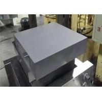 Buy cheap High Wear Resistance Tungsten Carbide Plate Dimensions Customized For Cutting Tool product