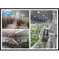 Buy cheap Polyurethane Panel Multipurpose Cold Storage For Vegetable Environment Protective product