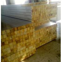 Buy cheap Glass Wool Insulated Roof Panels Foam Insulation Panels 80Mm Thickness product