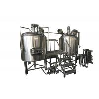 China 300L Stainless Steel Small Brewing Equipment Beer Fermentation Cooling Jacket on sale