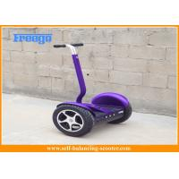 Electric 2 Wheel Self Balancing Scooter Lithium Battery Purple For City