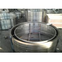 Buy cheap EN10084 18CrMo4  DIN 1.7243 ASTM A572 Grade12 Gr11 Forged Ring Bar Machined product