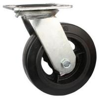 Buy cheap Swivel Rubber With Iron Cast Wheel product