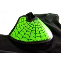 Buy cheap Role play custom green spider-man  EL mask hot sale popular music party  glow in the dark light sound activated led mask product