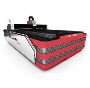 Buy cheap AC Servo System Driver Fiber Laser Metal Cutting Machine 500W HECF3015I-500 from wholesalers