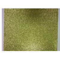 JC 1.38 Meter Width PU Leather Gold Glitter Fabric Decoration KTV Living Room for sale