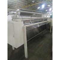 Quality Horizontal Fabric Roll Cutting Machine , Industrial Fabric Die Cutter For Quilted Panel for sale
