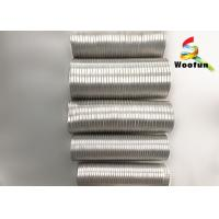 China Smoke Ventilation Aluminum Air Duct , Flame Proof Flexible Exhaust Duct on sale