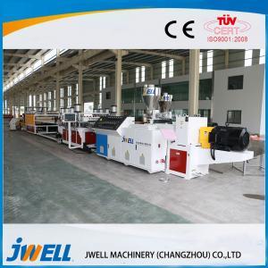 China Composite Plastic Profile Extrusion Line Decoration Materials Eco Friendly on sale