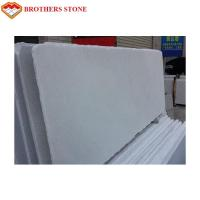 Buy cheap 1.8cm Thickness Thassos White Marble Stone , Polished Honed White Crystal Marble product