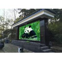 China High Resolution Outdoor LED Video Wall , LED Outdoor Advertising Screens Board on sale