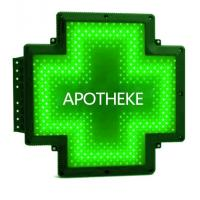 Buy cheap 110-240V LED Pharmacy Cross Sign Double Sides Outdoor Waterproof Synchronous product