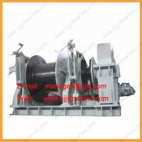 Buy cheap Single Type Wire Rope Electric Boat Winch product
