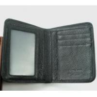 Buy cheap Black Two Layer Men Genuine Leather Wallets product