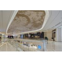 Buy cheap 2.5MM PVDF Coating Luxury Gold Metal Ceiling Panels For Shopping Mall Commercial Building product