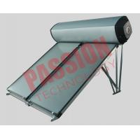 Buy cheap Compact Swimming Pool Solar Water Heater Flat Plate Black Chrome Coating product
