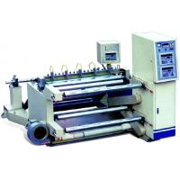 Buy cheap High Precision Slitting and rewinding Machine for CPE / PVC cutting - rolling product
