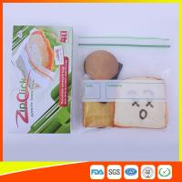 Buy cheap Food Stroage Plastic Sandwich Bags LDPE / Zip Up Storage Bags For Supermarket product