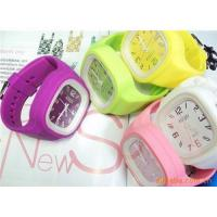 China Jelly Silicon Watch in promotion/100% directly factory supply on sale