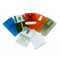 China Transparent 2G, 4G Credit Card USB Drives for Windows Vista / XP (MY-UC102) on sale