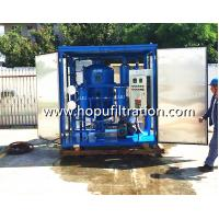 Buy cheap transformer oil recycle machine, electrical power system oil filtration Factory,decoloration purifier,renew,regeneration product
