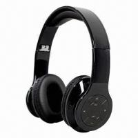 Buy cheap Bluetooth Headphones with MP3, 5V DC Power Input, Measures 15 x 15 x 6.5cm product