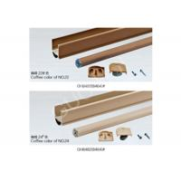 Soft Sheer Curtain Bottom Rail Aluminium C Channel , Aluminum U Channel Profile